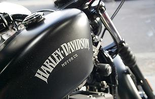 ハーレーダビッドソンの板金塗装