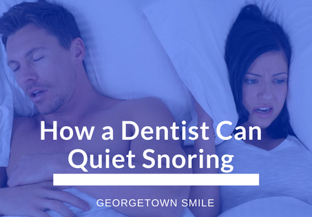 Georgetown Smile can improve your sleep!