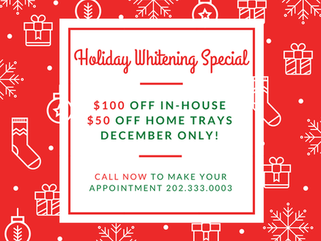 Holiday Whitening Special