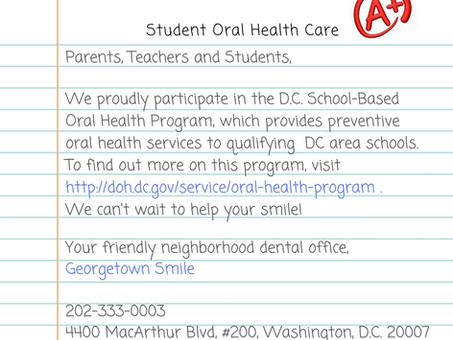 Are you Eligible for the D.C. Oral Health Program?