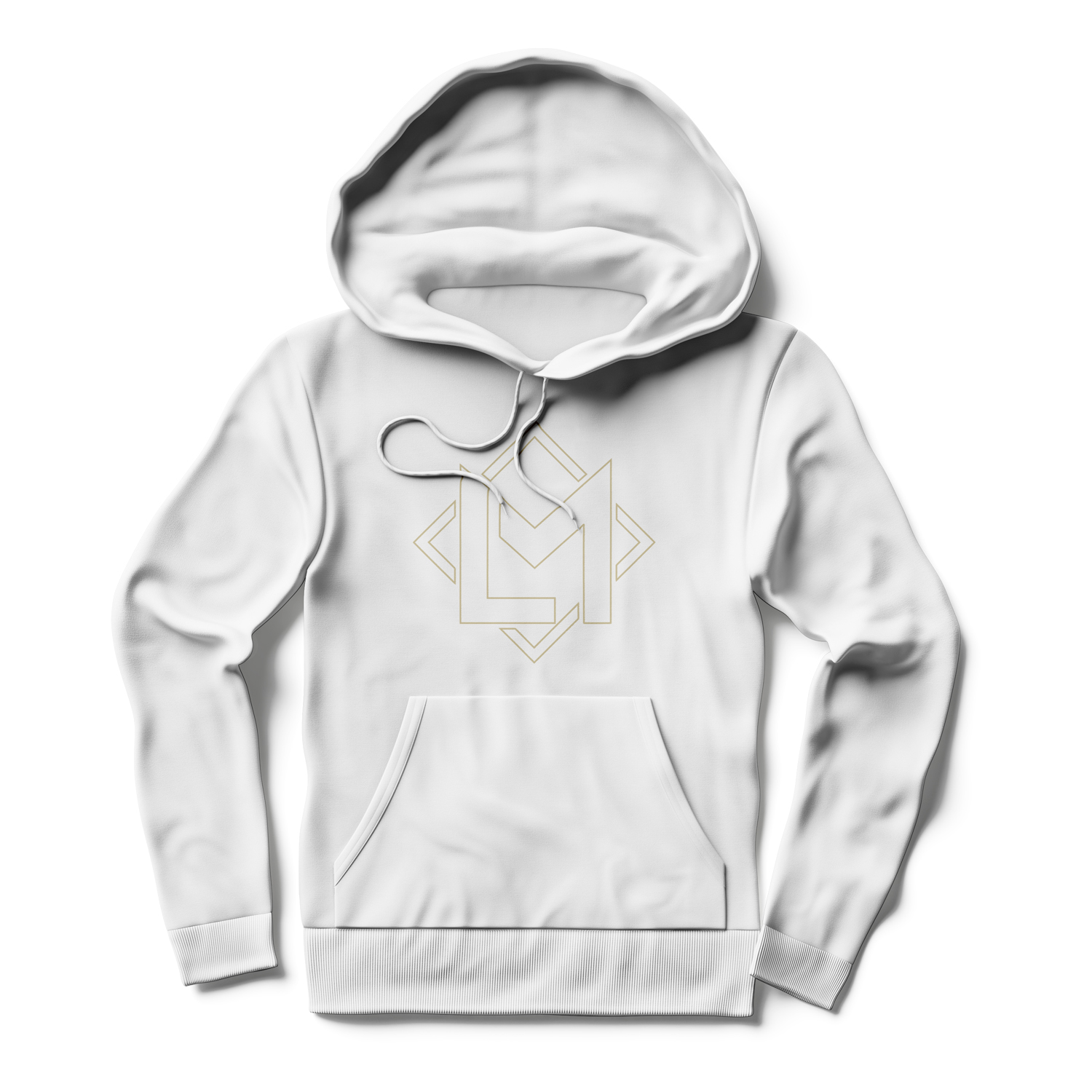 LM WY WHITE HOODIE