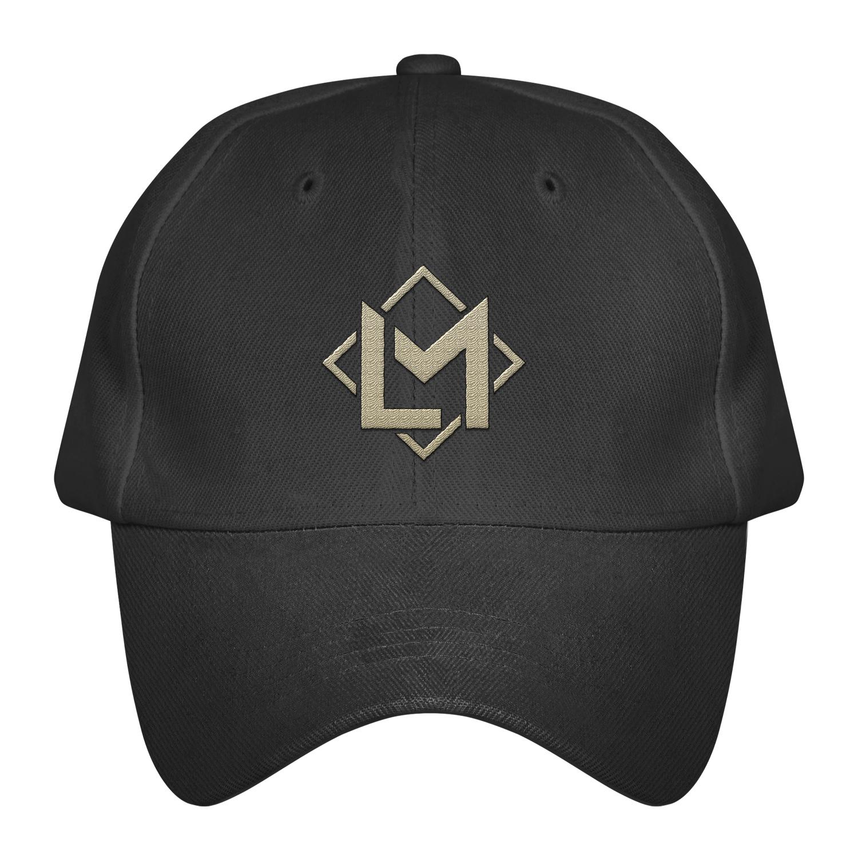 LM WY BLACK DAD HAT