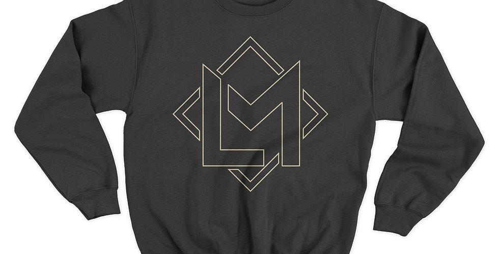 Gold Logo Crewneck Sweatshirt