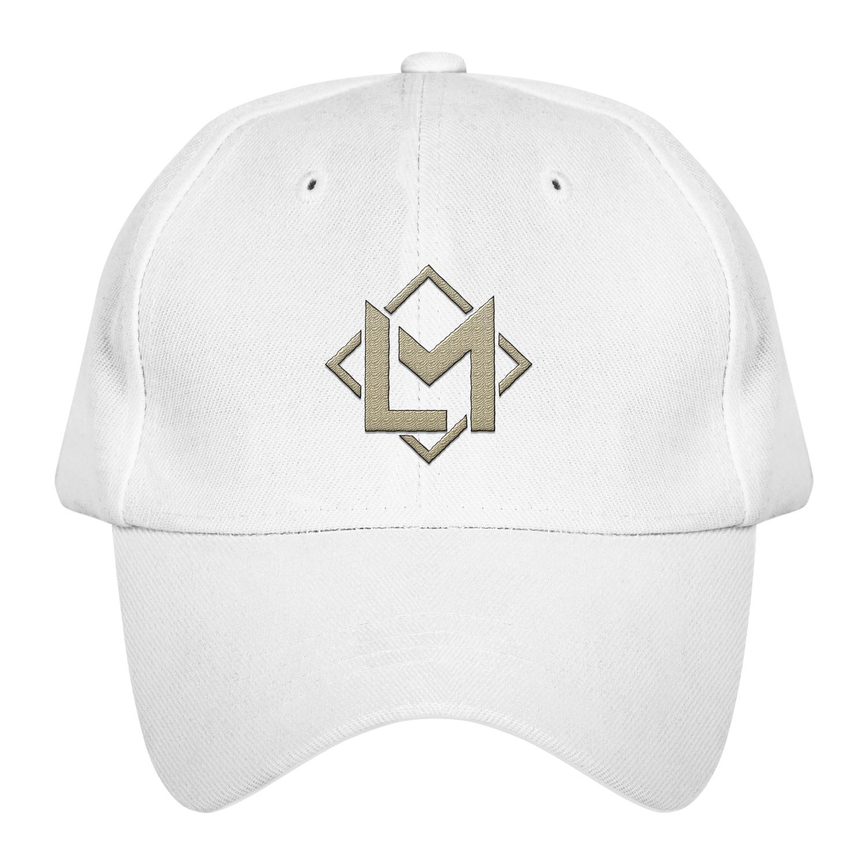 LM WY WHITE DAD HAT