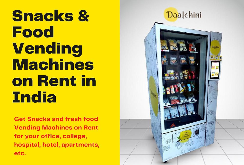 Vending Machine on Rent in India