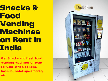 [2021] Vending Machine on Rent: Starting @ Rs.5,000