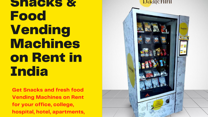 [2021] Vending Machine on Rent: Starting @ Rs.5,000