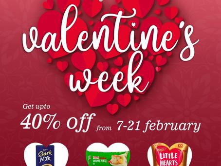 Valentine's week Offer
