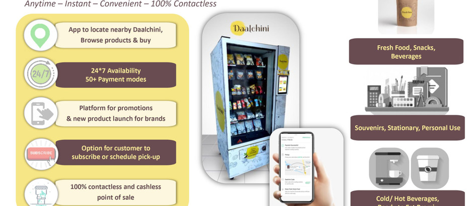 Types of Vending Machines in India | Applications & Use Cases (Top 10)