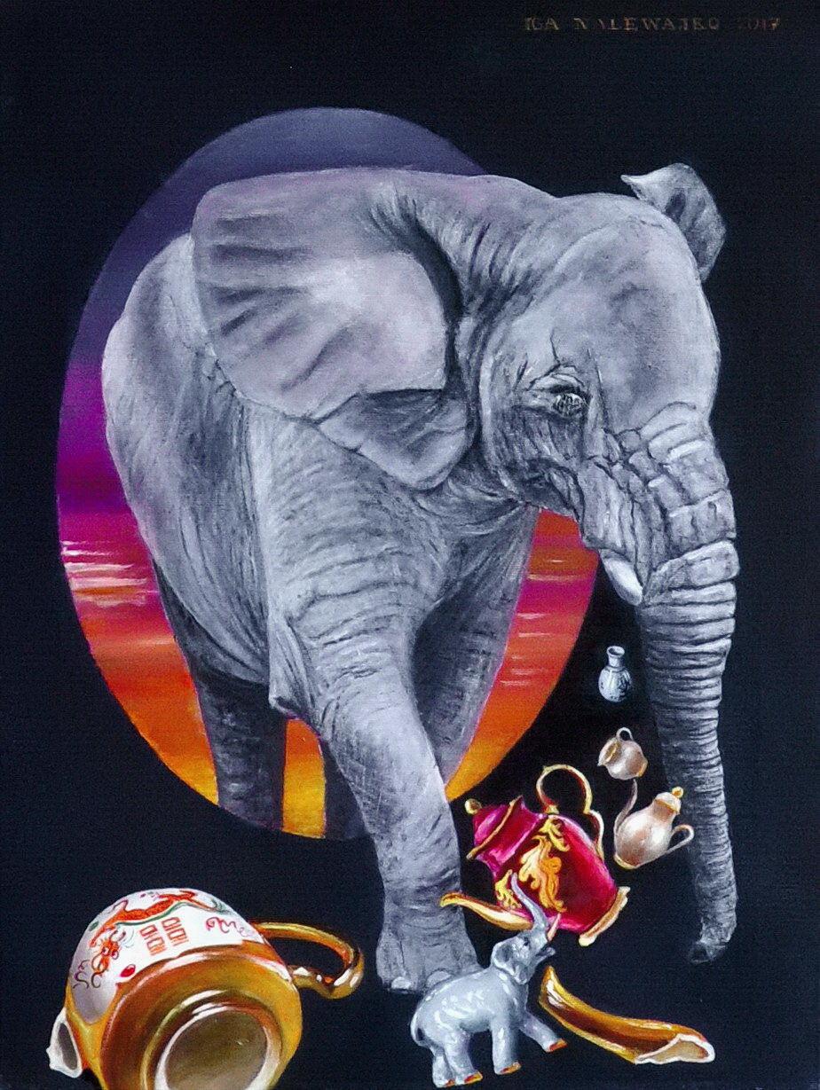 """""""Sen słonia o porcelanie"""""""