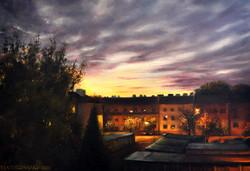 Wschód sł nad Kazimierzowską