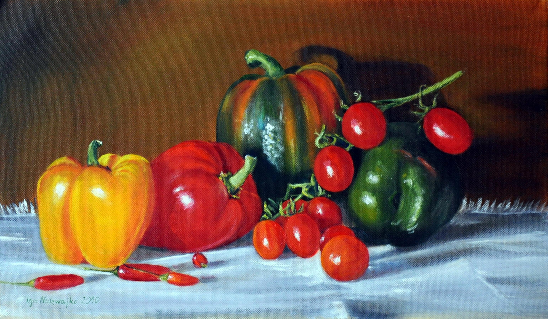 Papryka i pomidorki