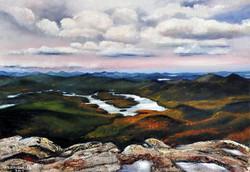 Widok z Whiteface Mountain