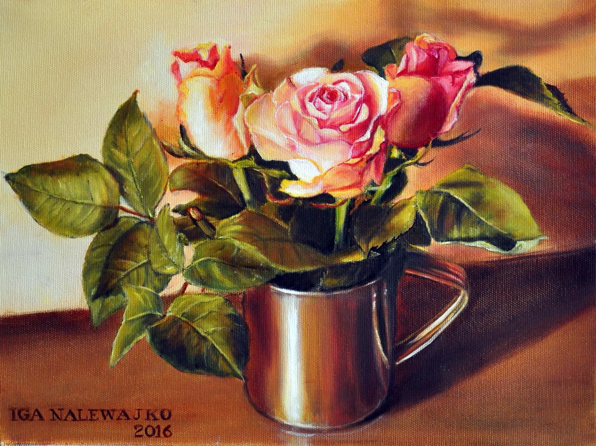 """""""Róże w garnuszku"""""""