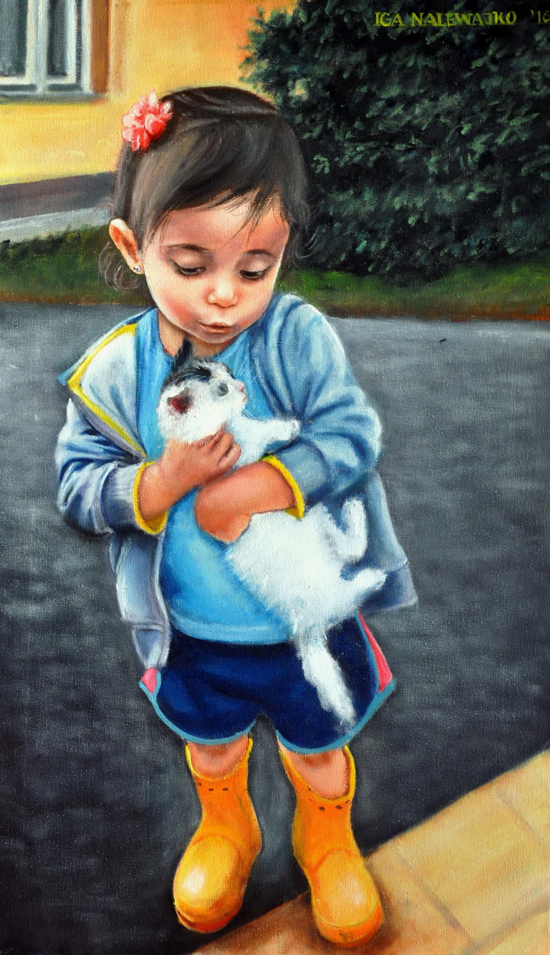 """""""Lilly  z kotkiem"""""""
