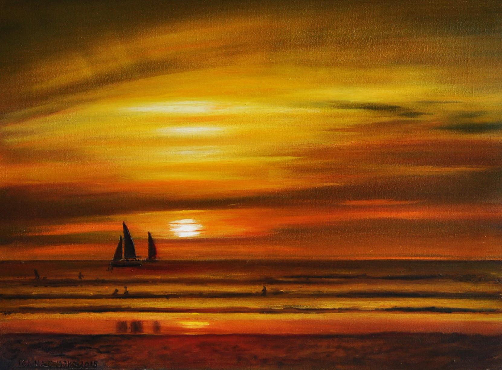 """""""Wieczór nad morzem"""""""