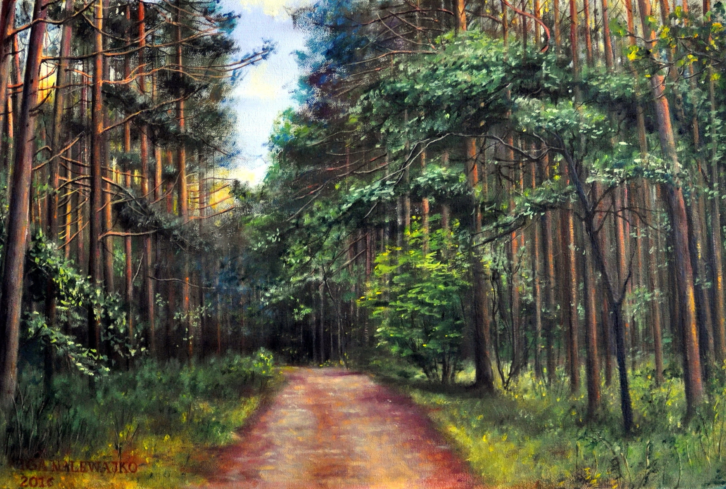 """Leśna droga"""