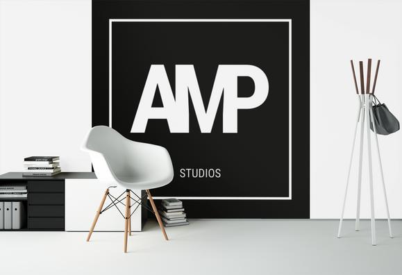 AMP Studios Primary Logo