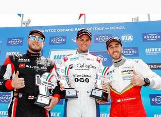 Tom Chilton wins at WTCC Monza, Italy