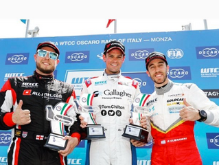 Tom Chilton wins at WTCC Monza, Italy