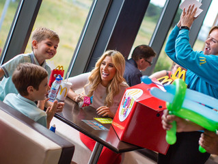 Stacey Solomon - McDonald's Family Fun Day