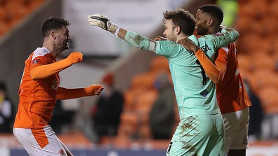 Maxwell's performance puts Blackpool through to the next round of the FA Cup!