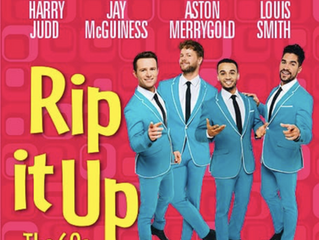 Jay McGuiness stars in Rip It Up The Show!