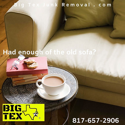 Couch Removal, Couch Removal Dallas