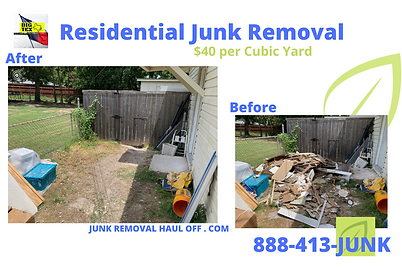 Remove Junk From Home Dallas TX Junk Removal Services