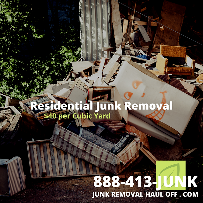 Junk Removal Services in Carrollton, TX