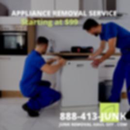 Dallas Appliance Removal Service, Junk R