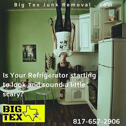 Refrigerator Removal Refrigeator disposal services in Dallas, TX