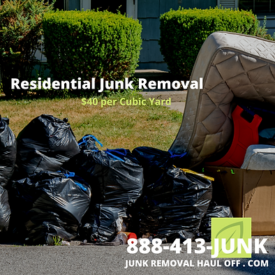 Spring Cleaning Junk Removal in Dallas, TX