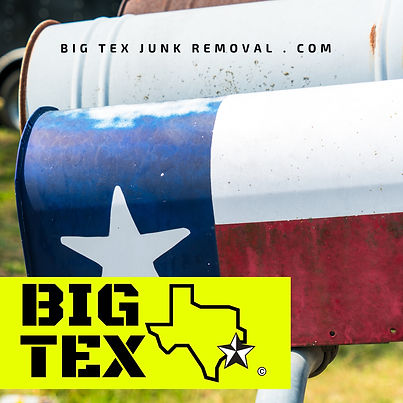 DENTON COUNTY Junk Removal, Big Tex Junk Removal