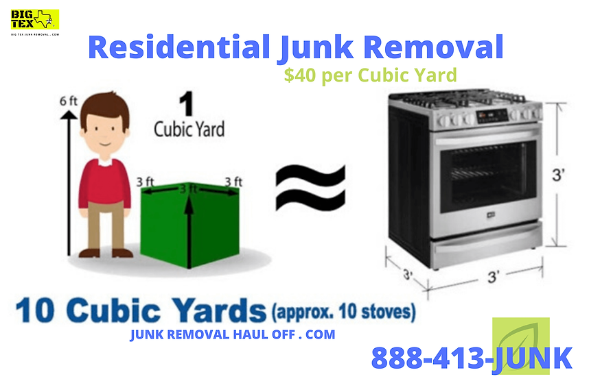 BIG TEX Junk Removal Service in Dallas T
