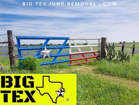 Waxahachie Texas Junk Removal Service
