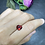 Thumbnail: 2.24Ct Orangy Red Spinel (Heart Shape)
