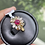 Thumbnail: 0.8Ct Unheated Burmese Ruby and Natural Diamond Ring in 18k solid gold