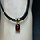 Thumbnail: Red Spinel Pendant in 18k solid gold