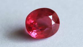 Burmese Ruby gemstones