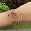 Thumbnail: 16pcs Unheated Burmese Rubies and Natural diamonds yard necklace in 18k gold