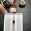Thumbnail: 1.14Ct Pear Cut Red Spinel