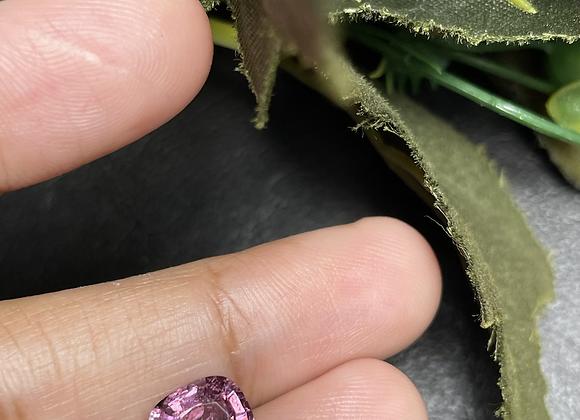 2.32Ct Purplish Bright Pink Spinel