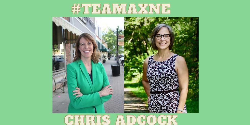 Cindy Axne and Chris Adcock Phone Calls