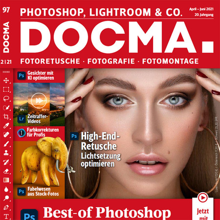 DOCMA 97 Photoshop Tilt Shift
