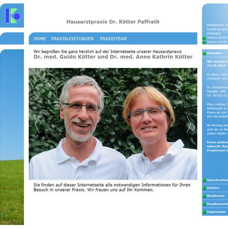 """Website """"Hausarzt"""""""