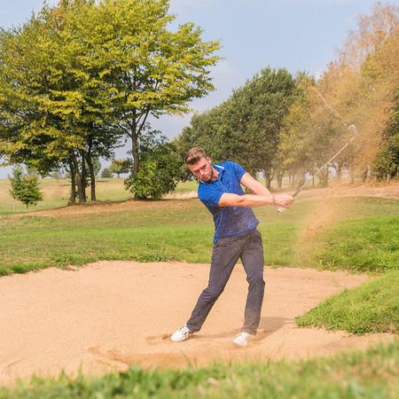 "Foto ""Golfer"""