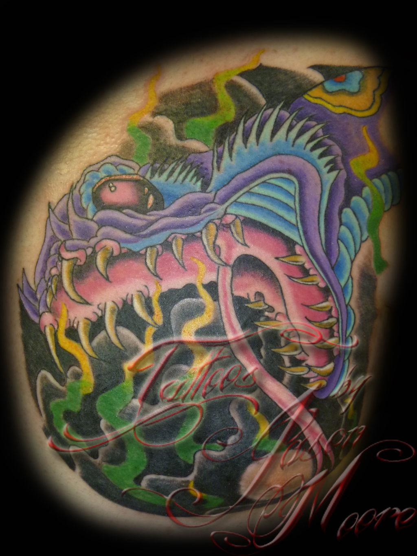 Tattoos By Jason Moore At Broken Needle Tattoos In
