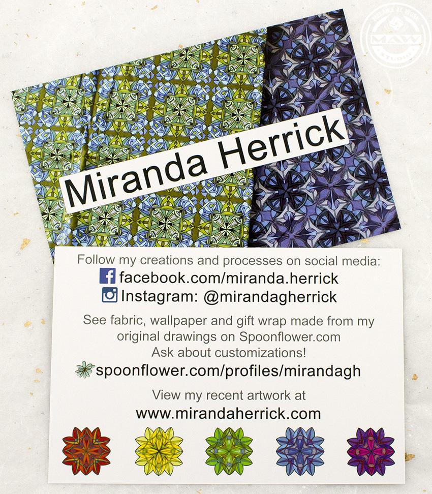 Miranda Herrick-Social Media card