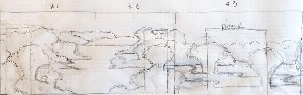 C Terrell Conceptual wallpaper sketch